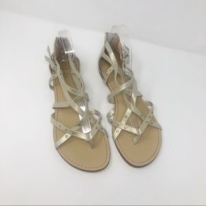 Splendid Suede Studded Strappy Sandals 9